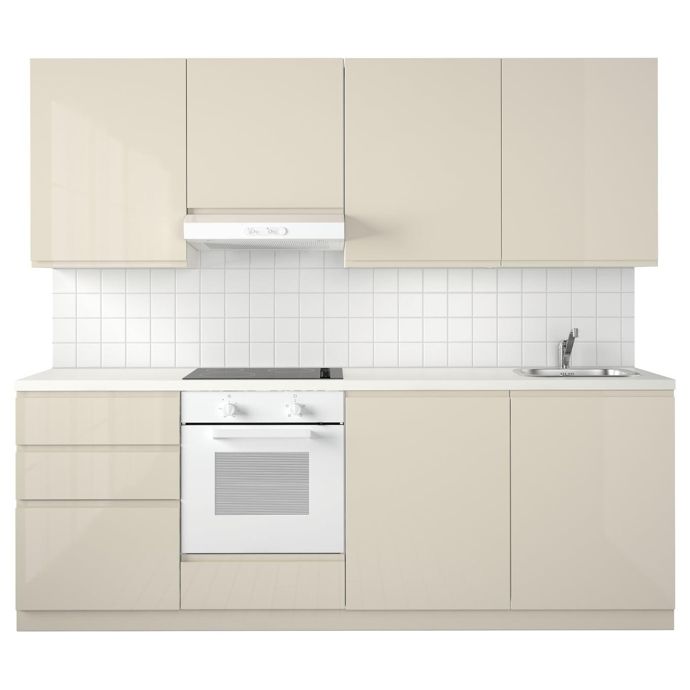 METOD Küche - weiß Maximera, Voxtorp Hgl hbei - IKEA ...