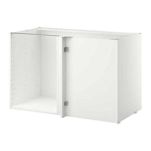 Metod Korpus Eckunterschrank Weiss Ikea