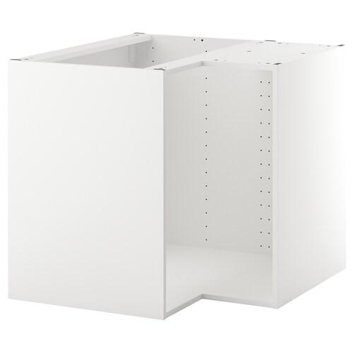 METOD Korpus Eckunterschrank - weiß 10x10x10 cm