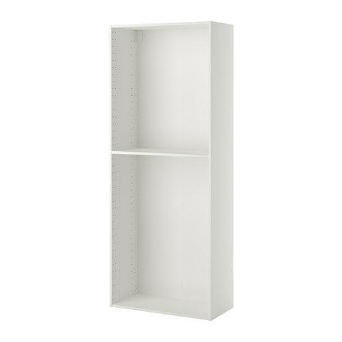 METOD Korpus Hochschrank - weiß, 40x37x200 cm - IKEA