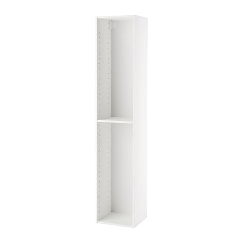 metod korpus hochschrank wei 40x37x200 cm ikea. Black Bedroom Furniture Sets. Home Design Ideas
