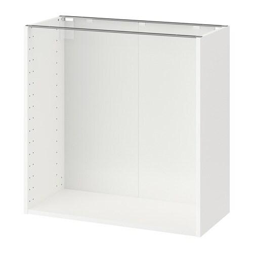 metod korpus unterschrank wei 80x37x80 cm ikea. Black Bedroom Furniture Sets. Home Design Ideas