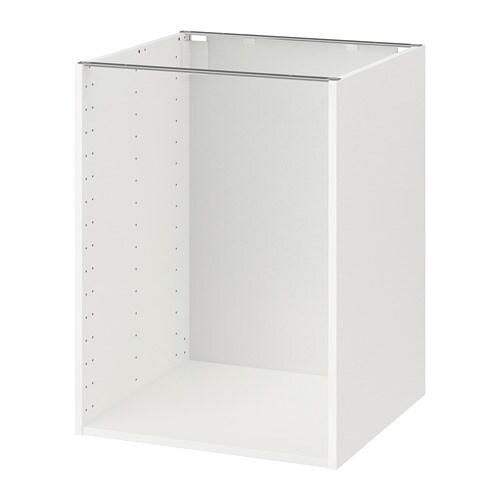 metod korpus unterschrank wei 60x60x80 cm ikea. Black Bedroom Furniture Sets. Home Design Ideas