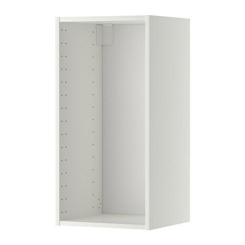 metod korpus wandschrank wei 40x37x80 cm ikea. Black Bedroom Furniture Sets. Home Design Ideas