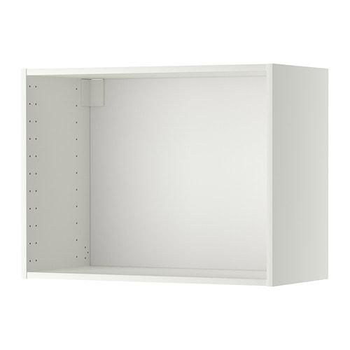 metod korpus wandschrank wei 80x37x60 cm ikea. Black Bedroom Furniture Sets. Home Design Ideas