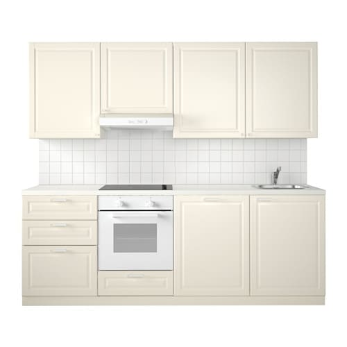 METOD Küche - Bodbyn elfenbeinweiß - IKEA