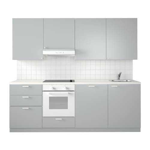 METOD Küche - Veddinge grau - IKEA