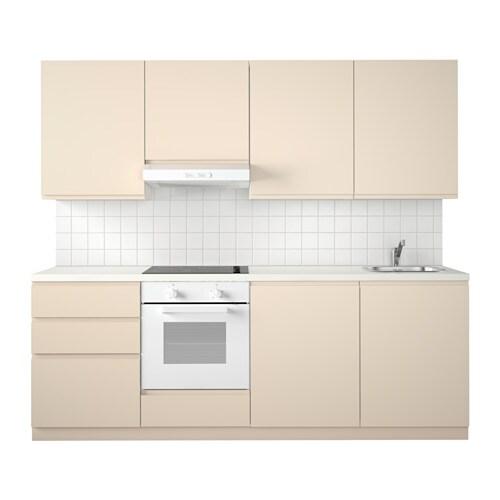 METOD Küche FÖRVARA Schubladen lassen sich bis zu ¾ ihrer Tiefe
