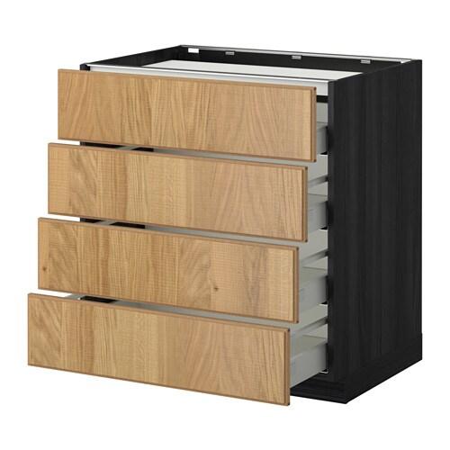 metod maximera unterschr f kochf 4 fronten 4 sch. Black Bedroom Furniture Sets. Home Design Ideas