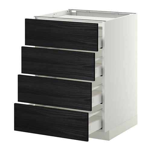 metod maximera unterschr f kochf 4 fronten 4 sch wei. Black Bedroom Furniture Sets. Home Design Ideas