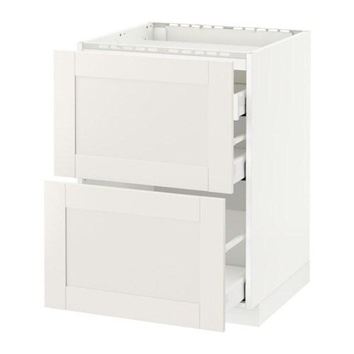 metod maximera unterschr f kochf 2 fronten 3 sch wei s vedal wei 60x60 cm ikea. Black Bedroom Furniture Sets. Home Design Ideas