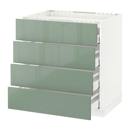 metod maximera unterschr f kochf 4 fronten 4 sch wei kallarp hochglanz hellgr n 80x60 cm. Black Bedroom Furniture Sets. Home Design Ideas