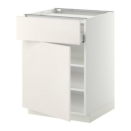 Gardinen Schienensystem Ikea ~ IKEA METOD  MAXIMERA Unterschr f Kochf Schubl Böden Tür  Veddinge