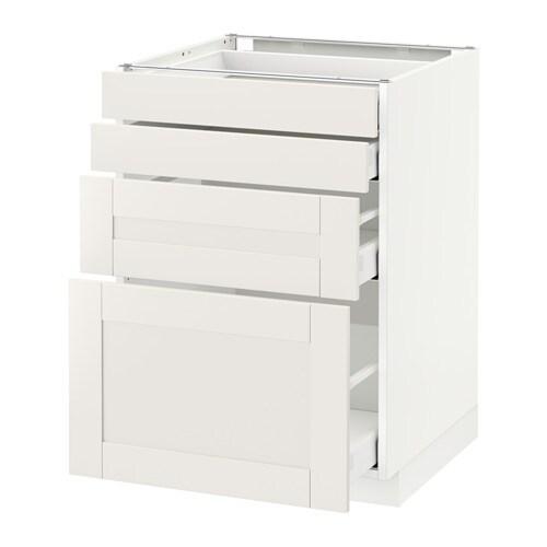 metod maximera unterschr 4 fronten 4 schubladen wei s vedal wei 60x60 cm ikea. Black Bedroom Furniture Sets. Home Design Ideas