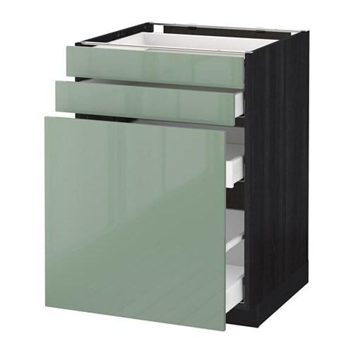 Metod maximera unterschrank m vollauszug 2 fronten for Küche hellgrün