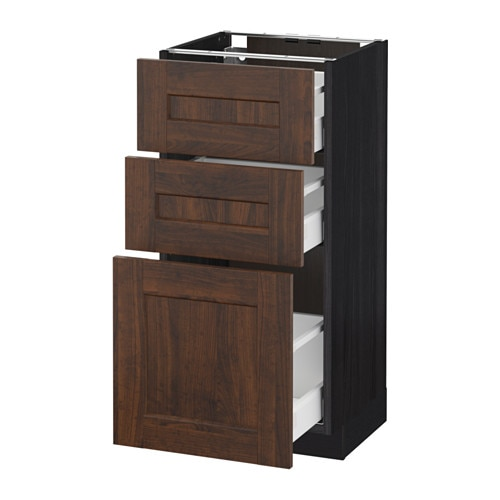 metod maximera unterschrank mit 3 schubladen. Black Bedroom Furniture Sets. Home Design Ideas