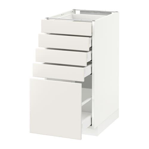 METOD / MAXIMERA Unterschrank mit 5 Schubladen - weiß, Veddinge ... | {Küchen unterschrank schubladen 16}
