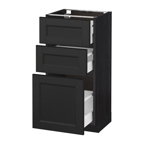 Küchen Unterschrank Mit Schubladen Ikea ~ metod maximera unterschrank mit 3 schubladen ikea