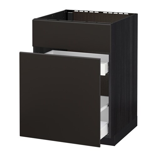 metod maximera uschr f sp le abftr 1t 2sch holzeffekt schwarz kungsbacka anthrazit ikea. Black Bedroom Furniture Sets. Home Design Ideas