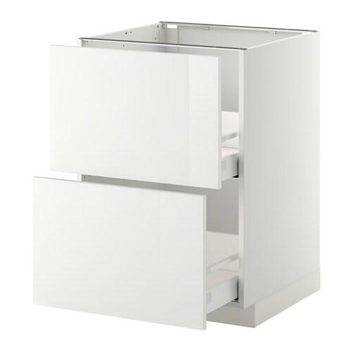 metod maximera uschr 2 fr 2 haho sch wei ringhult hochglanz wei 60x60 cm ikea. Black Bedroom Furniture Sets. Home Design Ideas