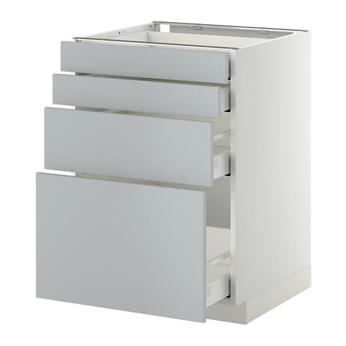 metod maximera uschr 4 fr 2 ni 2 haho sch wei veddinge grau 60x60 cm ikea. Black Bedroom Furniture Sets. Home Design Ideas