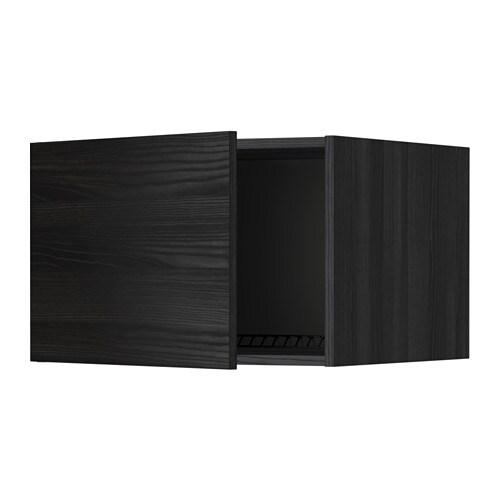 metod oberschrank f k hl gefrierschrank holzeffekt schwarz tingsryd holzeffekt schwarz. Black Bedroom Furniture Sets. Home Design Ideas