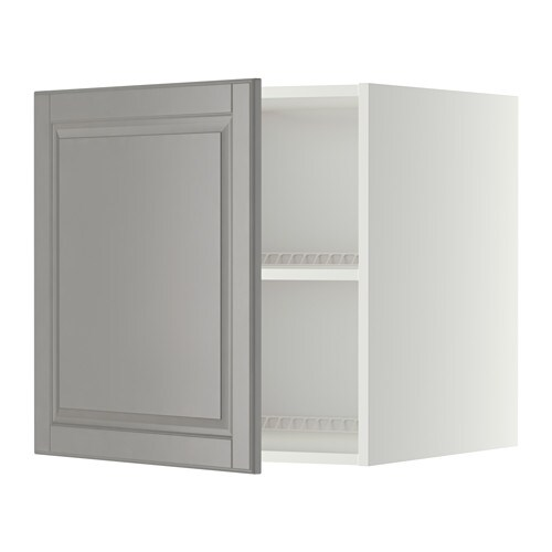 metod oberschrank f k hl gefrierschrank wei bodbyn grau 60x60 cm ikea. Black Bedroom Furniture Sets. Home Design Ideas