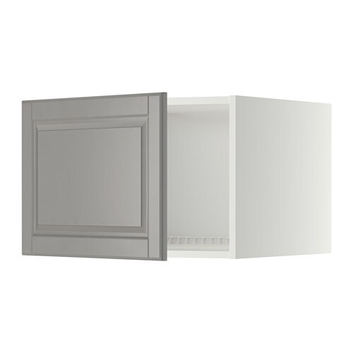 metod oberschrank f k hl gefrierschrank wei bodbyn grau 60x40 cm ikea. Black Bedroom Furniture Sets. Home Design Ideas
