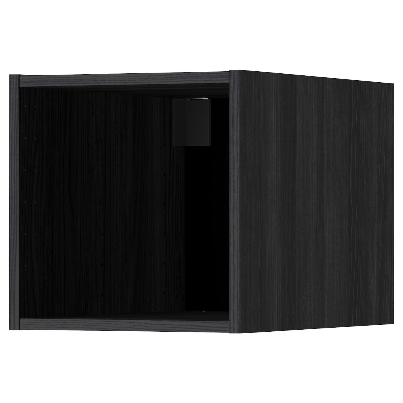 METOD, Oberschrank, schwarz 502.240.74