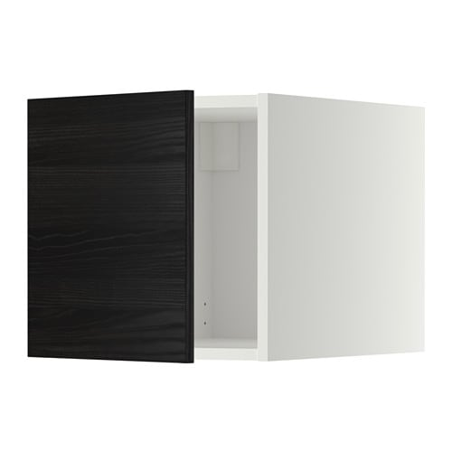 metod oberschrank wei tingsryd holzeffekt schwarz ikea. Black Bedroom Furniture Sets. Home Design Ideas