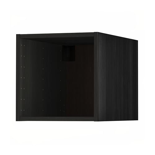 metod oberschrank holzeffekt schwarz ikea. Black Bedroom Furniture Sets. Home Design Ideas