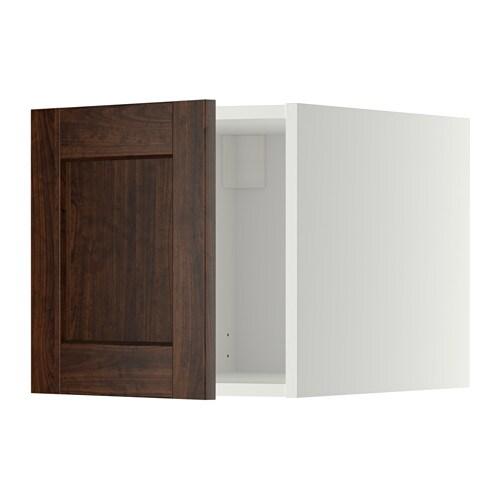 metod oberschrank wei edserum holzeffekt braun ikea. Black Bedroom Furniture Sets. Home Design Ideas