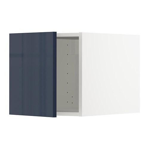 metod oberschrank wei j rsta hochglanz schwarzblau ikea. Black Bedroom Furniture Sets. Home Design Ideas
