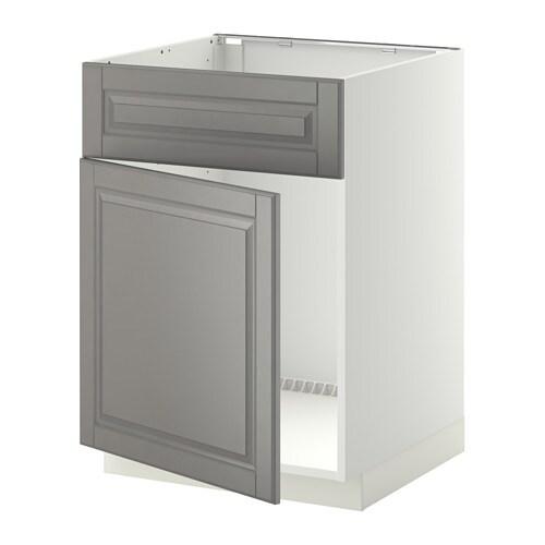 metod unterschr f sp le t r front wei bodbyn grau ikea. Black Bedroom Furniture Sets. Home Design Ideas