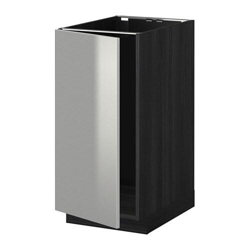 metod unterschr f r sp le abfalltrennung holzeffekt schwarz grevsta edelstahl ikea. Black Bedroom Furniture Sets. Home Design Ideas