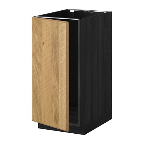 metod unterschr f r sp le abfalltrennung holzeffekt schwarz hyttan eichenfurnier ikea. Black Bedroom Furniture Sets. Home Design Ideas