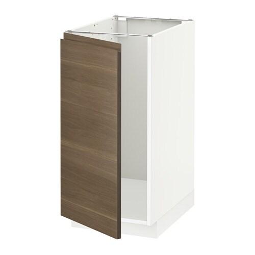 metod unterschr f r sp le abfalltrennung wei voxtorp nussbaumnachbildung ikea. Black Bedroom Furniture Sets. Home Design Ideas