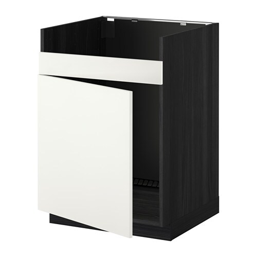 metod unterschrank f domsj sp le 1 holzeffekt schwarz h ggeby wei ikea. Black Bedroom Furniture Sets. Home Design Ideas