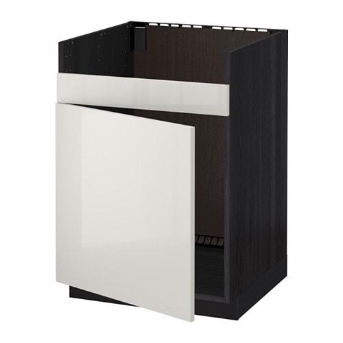 metod unterschrank f domsj sp le 1 holzeffekt schwarz. Black Bedroom Furniture Sets. Home Design Ideas