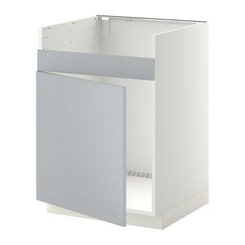 metod unterschrank f domsj sp le 1 wei veddinge grau ikea. Black Bedroom Furniture Sets. Home Design Ideas
