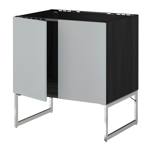 metod unterschrank f r sp le 2 t ren veddinge grau ikea. Black Bedroom Furniture Sets. Home Design Ideas