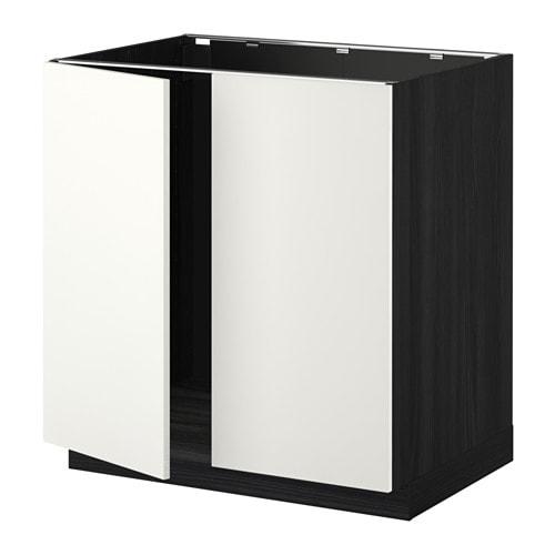 metod unterschrank f r sp le 2 t ren ikea. Black Bedroom Furniture Sets. Home Design Ideas