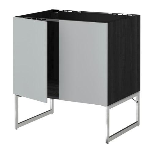 metod unterschrank f r sp le 2 t ren holzeffekt. Black Bedroom Furniture Sets. Home Design Ideas
