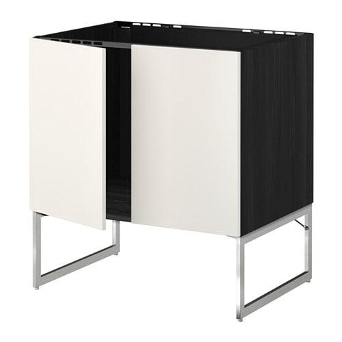 Ikea Daybed Converts To King ~ METOD Unterschrank für Spüle + 2 Türen Das Grundelement ist stabil