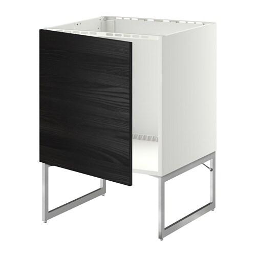 metod unterschrank f r sp le wei tingsryd holzeffekt schwarz ikea. Black Bedroom Furniture Sets. Home Design Ideas