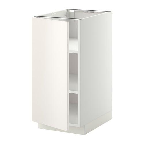 metod unterschrank mit b den wei veddinge wei 40x60. Black Bedroom Furniture Sets. Home Design Ideas