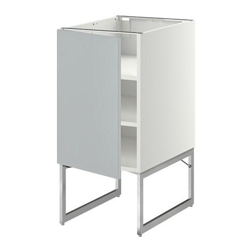 metod unterschrank mit b den wei veddinge grau 40x60x60 cm ikea. Black Bedroom Furniture Sets. Home Design Ideas