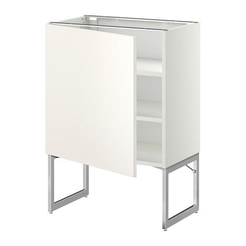 metod unterschrank mit b den wei veddinge wei 60x37x60 cm ikea. Black Bedroom Furniture Sets. Home Design Ideas