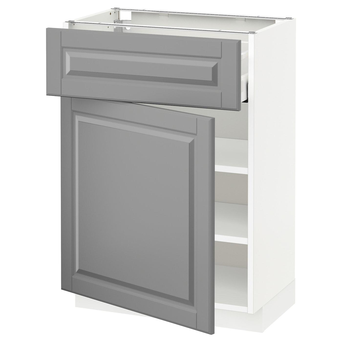 METOD, Unterschrank mit Schublade/Tür, weiß 992.696.31