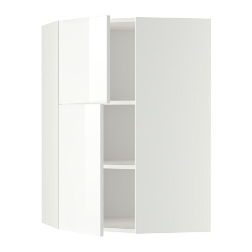 metod wandeckschrank mit b den 2 t ren wei ringhult hochglanz wei ikea. Black Bedroom Furniture Sets. Home Design Ideas